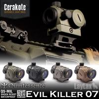 軍用規格のミルスペックのダットサイト「Evil Killer 07」セラコートVer.好評発売中!