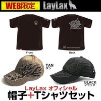 【新商品】WEB限定 Tシャツ+キャップセット好評発売中!