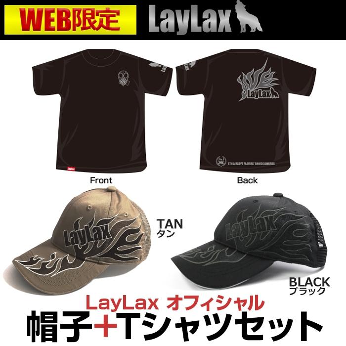 新商品】WEB限定 Tシャツ+キャップセット好評発売中!