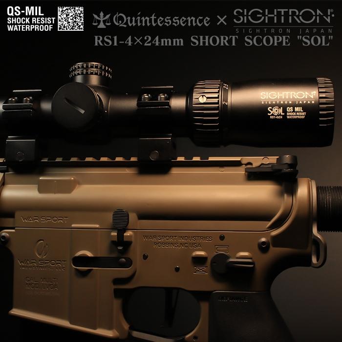 サイトロンジャパン ミルスペック スコープ RS1-4×24mm SHORT SCOPE