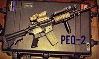初期アフガン小物 PEQ-2 リモートスイッチ