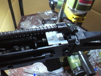 WE  AK74UN ショートストローク仕様 (本末転倒カスタムw)