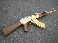 AK-47 突击歩枪黄金版