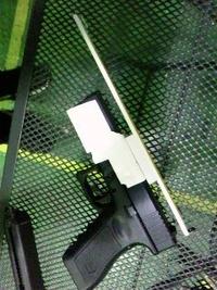 【KSC製G17】簡易ゴーストリングサイト製作【改修計画】