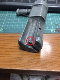 MGC MP-40 ボルト修理