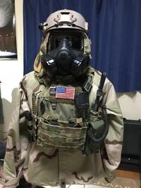 M50&chemical suit!