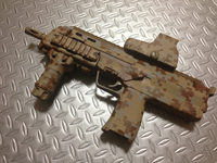 MP7 塗装その3