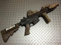 VFC Mk18 mod1 ブラックモデル化