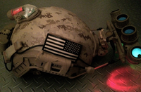 MARITIMEヘルメット AOR1風塗装