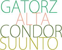 【再入荷】GATORZ/ALTA/CONDOR/SUUNTOいろいろ~
