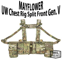 "MAYFLOWER "" UW ChestRig Gen5 SplitFront """