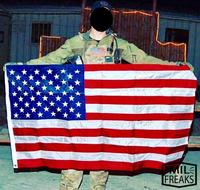 """ありそうでなかった """" 旗 """""""