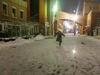 チッタで雪撮影