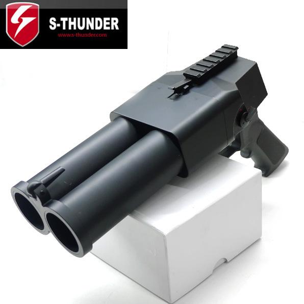 S-THUNDER ダブルバレル デュアルバレル グレネードランチャー