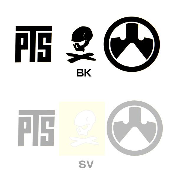 MAGPUL マグプル PTS ロゴ ビニール シール ステッカー セット BK SV