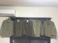 持っとる帝国陸軍の軍服を集めてみました