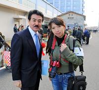佐藤正久議員と再びお会いしました