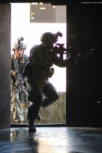 米陸軍のCQB(日米合同演習オリエントシールド2017)