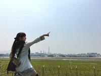 台北松山空港を一望!航空機マニアのためのカフェ