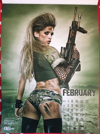 HOTSHOTカレンダー2月