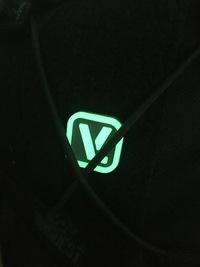 VANQUESTの蓄光ワッペン