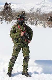 雪中でのアイウェア