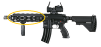 HK416用レール入荷