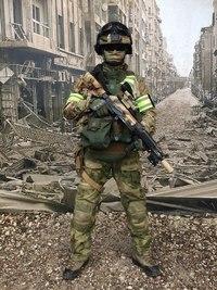 地域のロシア連邦保安庁所属特殊部隊装備