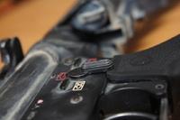 HK416 セレクターレバー加工!!