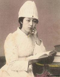 """従軍看護婦 """"JAPAN"""""""