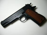 WA COLT M1911A1 CARBON BLACK黒染