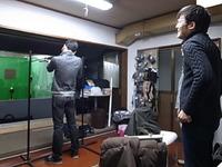 ワイドレンジで練習練習!