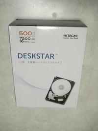 自作PCへの道7(HDD)