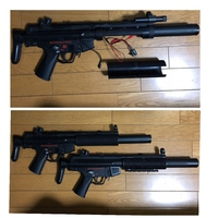 NAM☆ NAM holding time.MP5 survival game ・・・