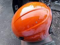 ヘルメットの塗装