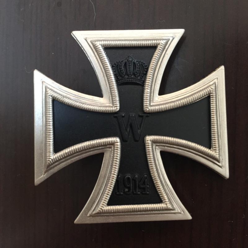 一級鉄十字1914年章
