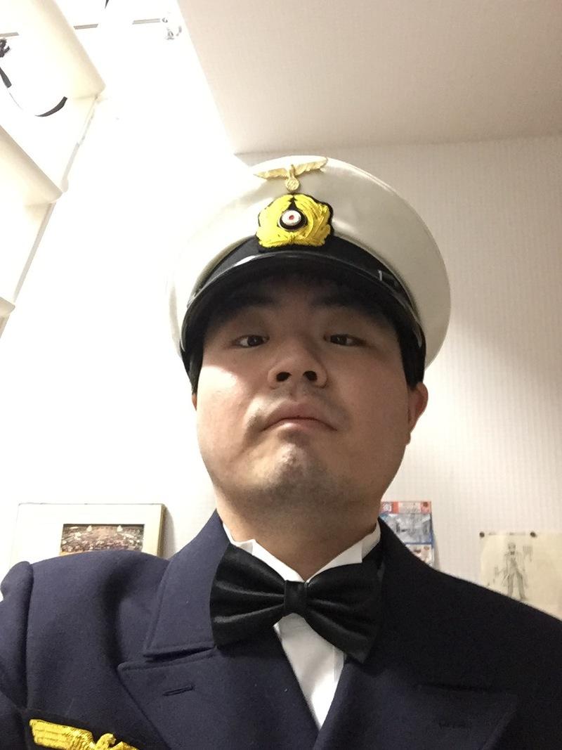 僕の軍装着用画像 その2