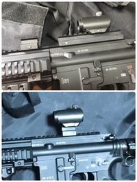 HK416D 軽量化計画❣️ エピソード 1  ( ̄▽ ̄) 2018/05/07 13:30:35