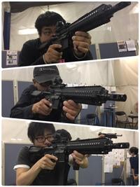 ウーパー射撃組 HK416D 大試射会❣️( ̄▽ ̄) 2018/04/23 13:00:11