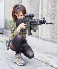 AORPink With 先進軽量化小銃