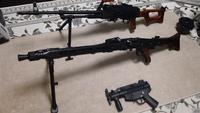 S&T MG42、PKM、MP5kのメンテ