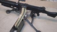 M240 弾薬箱からの給弾アダプター
