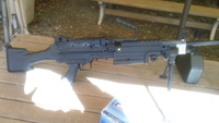 MINIMI M249のメンテ