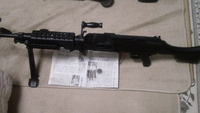 GE M240B サバゲー後のメンテ