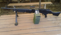 GE M240Bのバイポッド修理