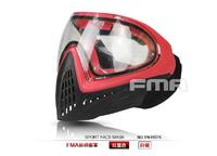 ペイントボールやサバイバルゲームでの使用に適したフルフェイスタイプマスクです。