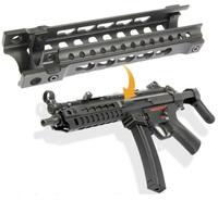 MP5シリーズ対応の Keymod キーモッドハンドガード