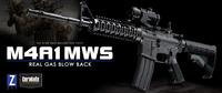 M4カービン強化プログラムによる、現用米軍火器の決定版 マルイ M4A1 MWS 再入荷です♡