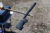 マルイ M40A5のストック、とりあえず塗ってみた