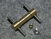 電動ガン メカボックス用 ギア軸受け圧入ツール